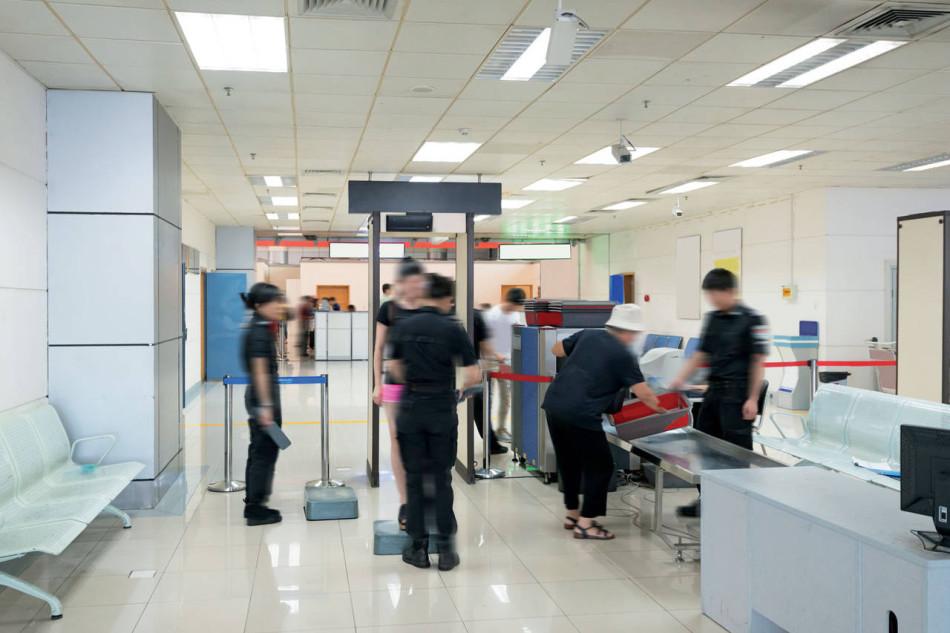 Metal detector e body scanner