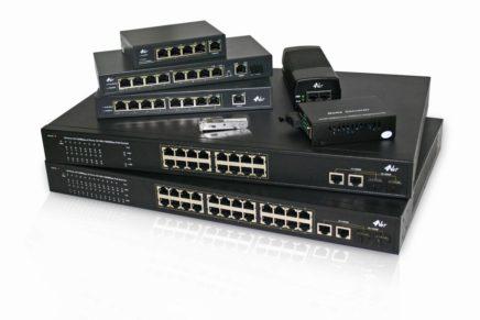 Switch PoE Gigabit 4NET
