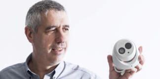 Telecamera VUpoint, RISCO Group - ph credits: Sicurezza magazine