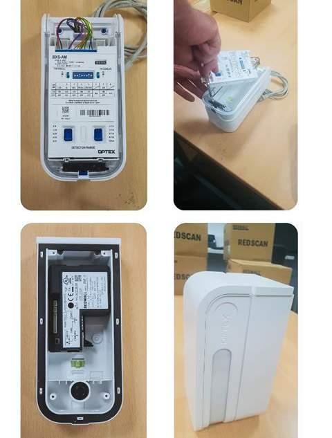 Optex, integrazione rivelatore e sistema di videorveglianza