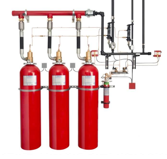 Sapphire Plus di Johnson Controls, il sistema a soppressione di incendi a 70 bar con fluido antincendio Novec 1230