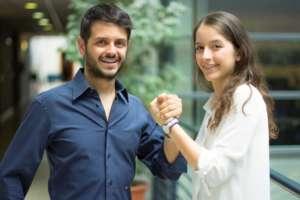 I fondatori di DroneGuardy Simone e Alessia Russo