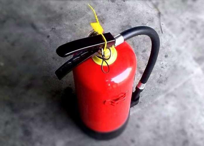 tecnico manutentore antincendio estintore