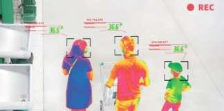 rilevazione temperatura telecamera termografica