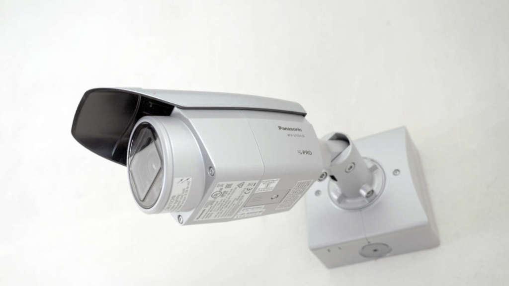 Telecamera IP Panasonic S WV-S1531LN, dedicata alla sorveglianza della cassa/biglietteria